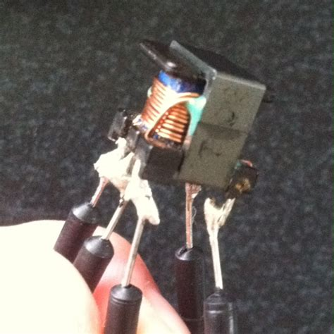transformer is resistor determine connections of a transformer based on resistance electrical engineering stack exchange