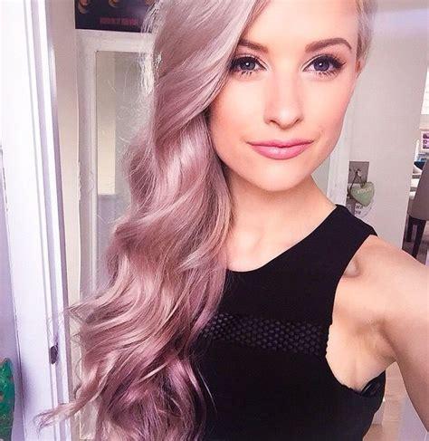 Bloude Dusty Pink best 25 dusty hair color ideas on