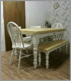 farmhouse table and chairs and bench chairs home