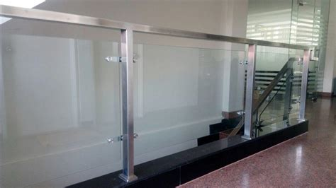 Railing Kaca sell balcony railing glass from indonesia by toko indah