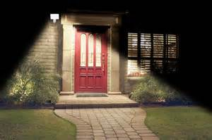 Led Front Door Lights Motion Activated Solar Security Light Real Goods