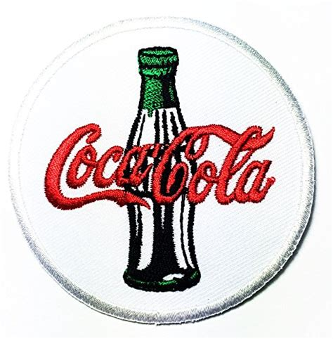 Iron Patch Drink Berkualitas enjoy coca cola coke soft drink logo patch jacket t shirt sew iron on patch badge embroidery