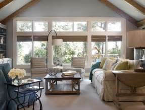 family living room large windows home decorating trends