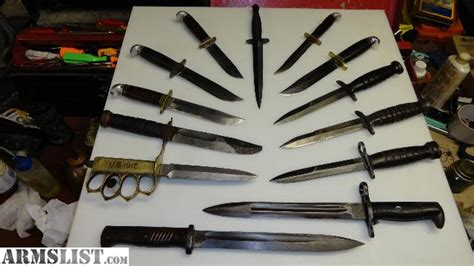 knife collections armslist want to buy knives and knife collections wanted by collector