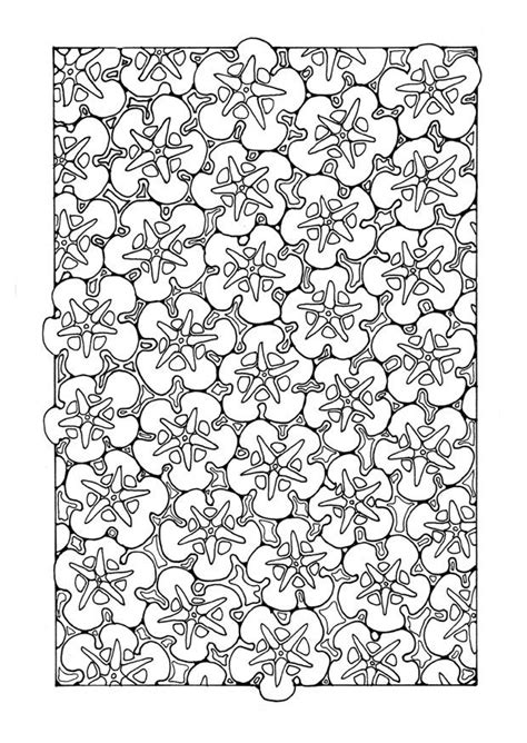 flower pattern coloring pages flower pattern coloring pages az coloring pages
