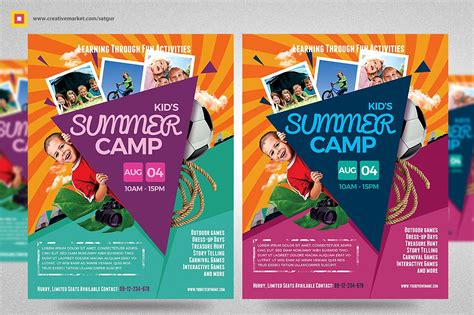 7 Summer C Flyer Designs Design Trends Premium Psd Vector Downloads Youth Flyer Template Free