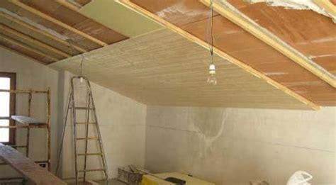 isolamento soffitto interno isolare il tetto dall interno e pi 249 semplice di quanto