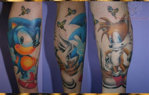 sonic the hedgehog tattoo 65 sonic tattoos