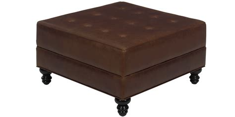 Large Square Storage Ottoman Leather Club Furniture Large Square Storage Ottoman