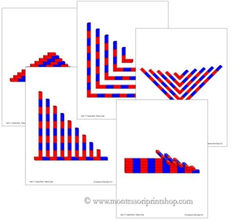 pattern extension activities 39 best images about montessori sensorial extension