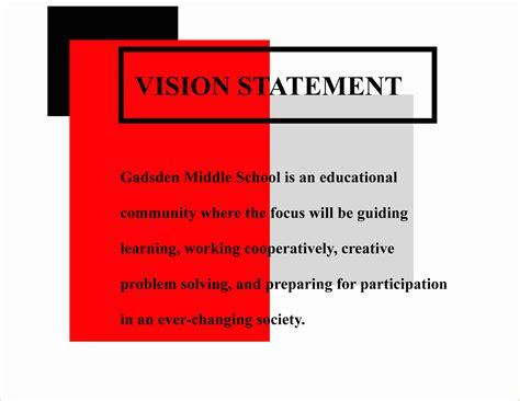 sle business plan vision statement personal vision statement template 28 images 10