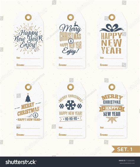 gift vector label elements webbyarts tags labels set elements vector stock vector