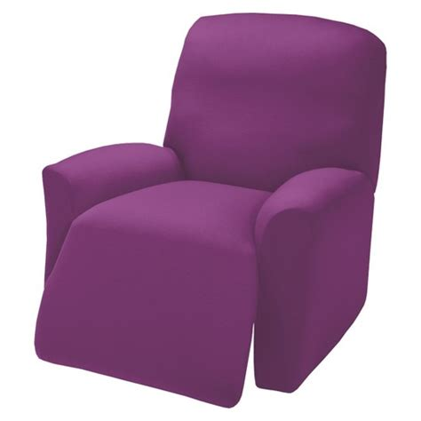 purple slipcover purple jersey large recliner slipcover madison