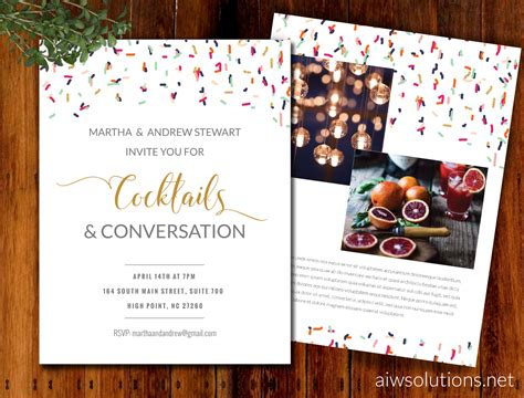 Invitations Event Template Save The Date Template Flyer Template Postcard Save The Date Invitation Flyer Templates