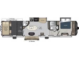raptor rv floor plans 2014 raptor 395lev floor plan toy hauler keystone rv