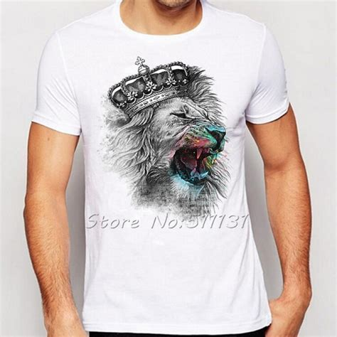 Printed T Shirts Mens Fashion by Newest Fashion Cool Crown Printed T Shirt Summer Trendy Mens Hip Hop Sleeve Tops