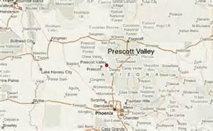 map of prescott arizona area prescott valley location guide