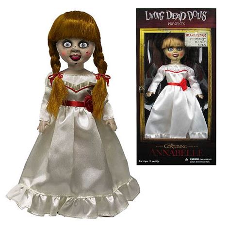 annabelle doll living dead living dead dolls the conjuring annabelle doll roobix