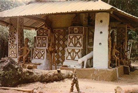 Decoration Things For Home What Were Traditional Nigerian Houses Like How Africa News