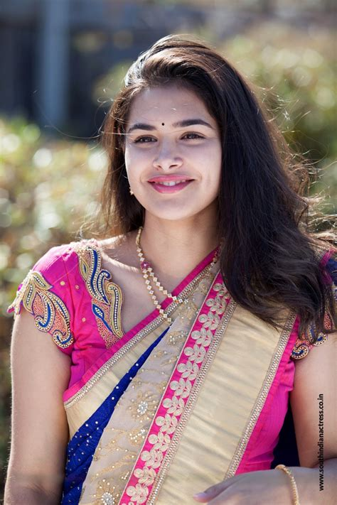 Divi Prasanna in Saree photos - South Indian Actress Actress