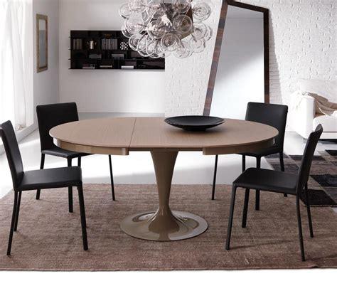 Tisch Rund by Ozzio Design Runder Ausziehbarer Tisch Eclipse T310
