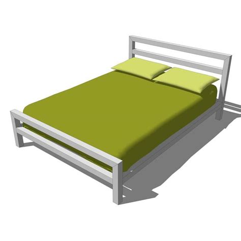 bed blocks city block bed and true storage 3d model formfonts 3d
