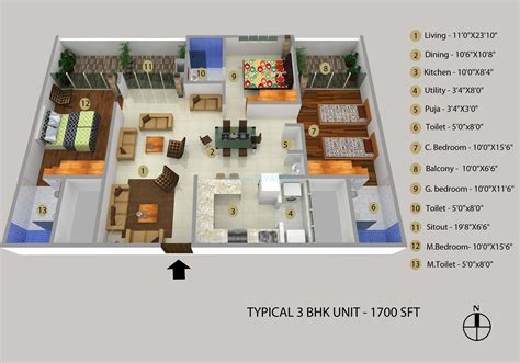 3bhk house design plans 3 bhk house plans in bangalore