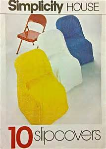 How To Sew A Slipcover For An Ottoman Vintage Chair Covers Sewing Pattern 10 Chairs By Patterns4you