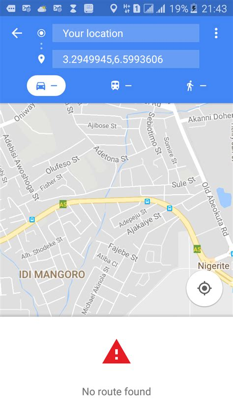 android gps not working android start maps for navigation not working when using longitude and latitude stack