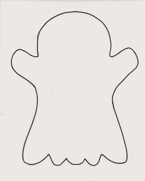 ghost template printable crafts for minds october 2014