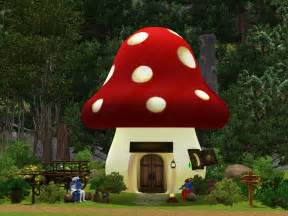 sil fantasy 3 smurfs sims and a smurf house lot
