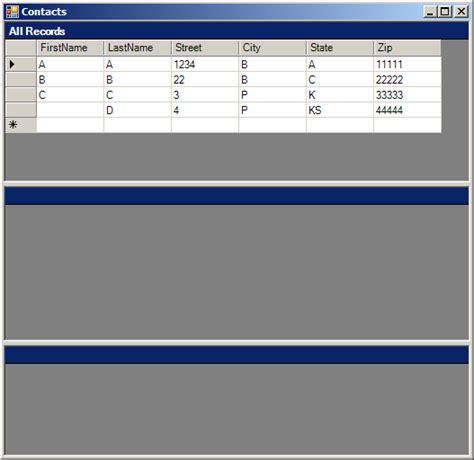 tutorial vb net dataset datagrid 171 database ado net 171 vb net tutorial