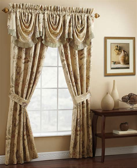 croscill curtains outlet croscill iris 50 quot x 21 quot waterfall swag window valance