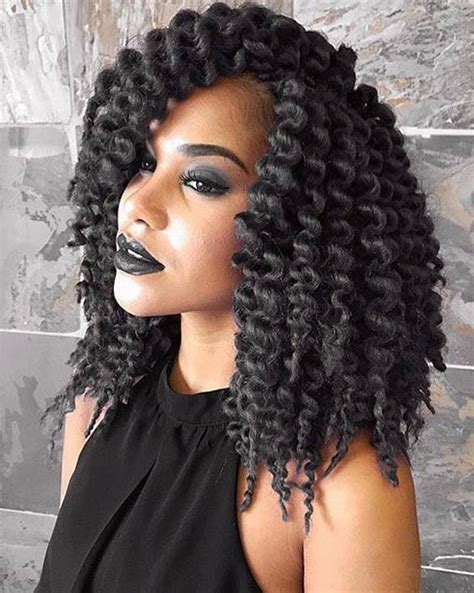 crochet black hair photos 41 chic crochet braid hairstyles for black hair page 39