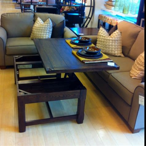 Coffee Table Into Dining Table Dining Table Coffee Table Turn Dining Table
