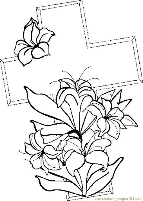 cross coloring pag coloring pages