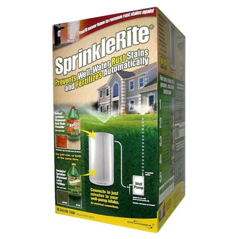 sprinklerite automatic rust prevention and fertilization
