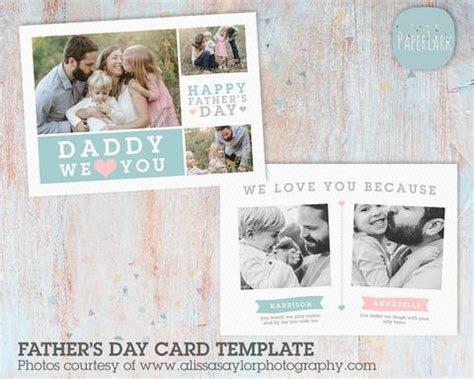 fathers day card template s day marketing board template if019 paper lark designs