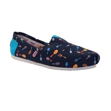 Sepatu Wakai Blue jual wakai sm01523 machito sepatu pria blue
