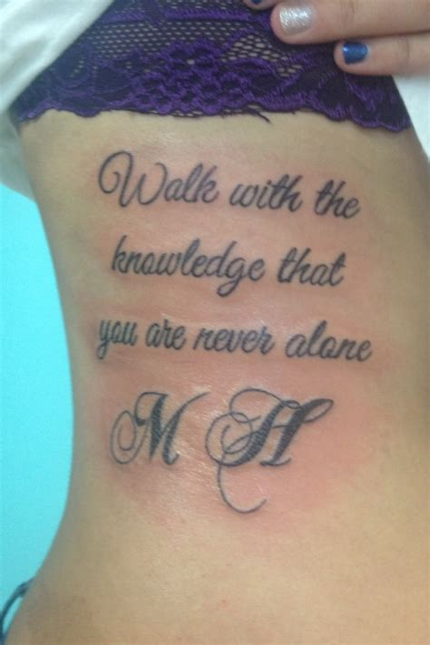memorial tattoos pictures memorial with a tidbit of an hepburn quote