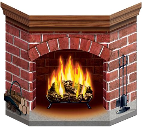 beistle brick fireplace d 233 cor only 12 99 ca