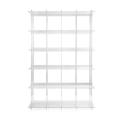 libreria muro libreria a muro design moderno in plexiglass trasparente