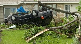 does progressive boat insurance cover hurricane damage flipped car