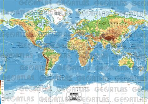 world map with cities pdf geoatlas world maps miller projection map city