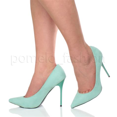 work high heels womens pointed contrast high heel smart work