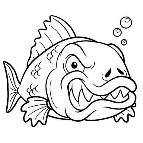 monster fish coloring pages free coloring pages of deep sea angler fish