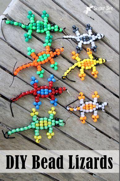 beaded lizard craft pony bead lizard tutorial for tutorials and niece