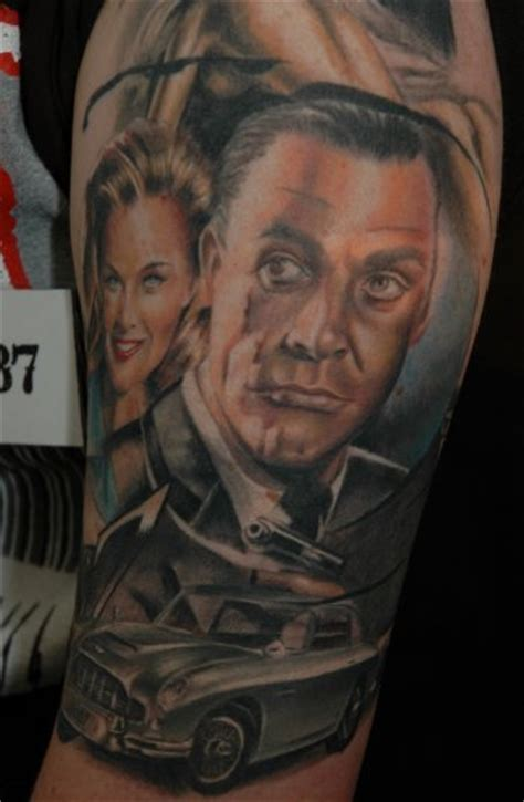 james bond tattoo bond related tattoos mi6 community