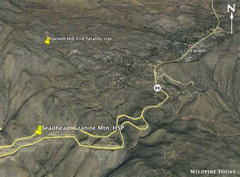 arizona wildfire map granite mountain hotshots memorial state park to open