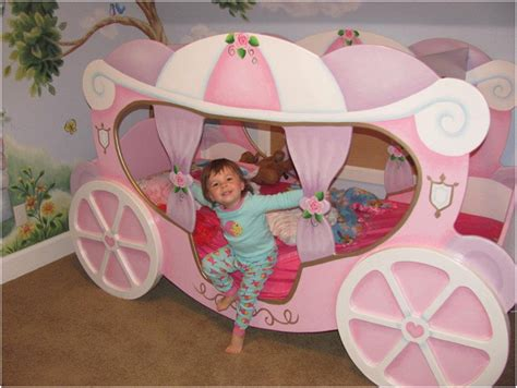 cinderella coach bed princess carriage bed petite by tanglewood design